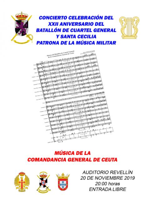 CONCIERTO EN HONOR DE SANTA CECILIA